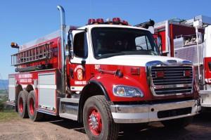 Camion pompiers de la Régie Kamouraska-Ouest